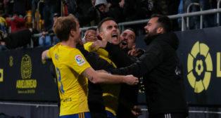 Cala, héroe del Cádiz CF esta temporada.