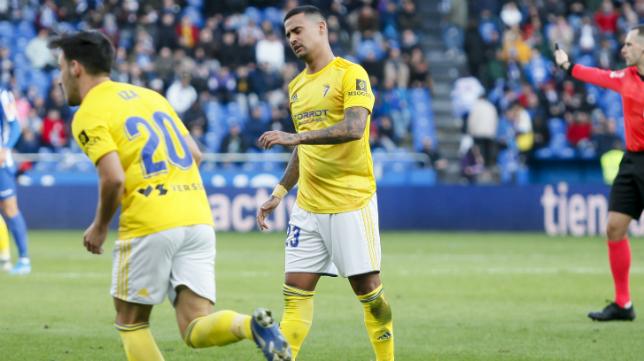 El Cádiz CF no dio la talla en Riazor.