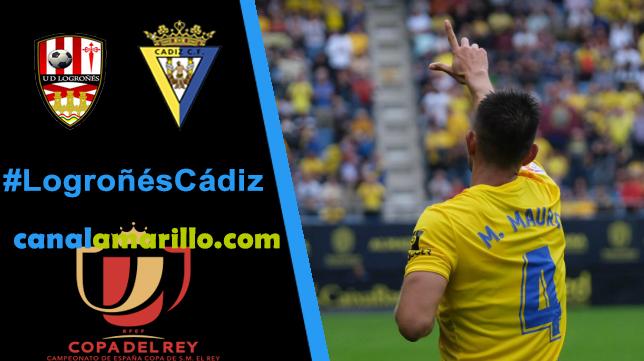 El Cádiz busca la tercera ronda en Copa del Rey