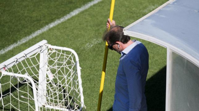 Óscar Arias, director deportivo del Cádiz CF, tiene trabajo este verano.