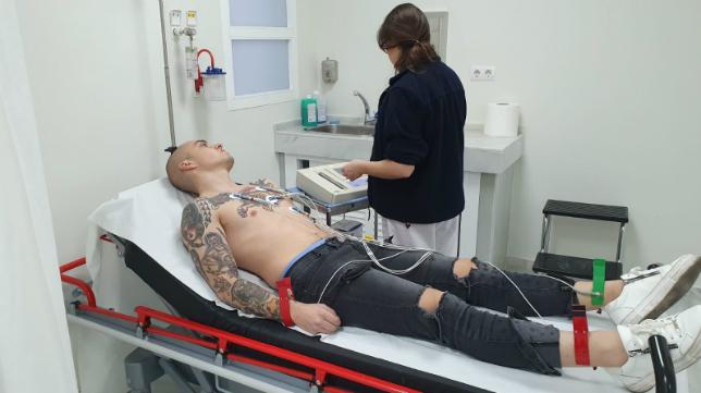 Jorge Pombo pasó el reconocimiento médico. Foto: Cádiz CF.