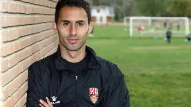 Sergio Rodríguez, entrenador de la UD Logroñés. Foto: La Rioja.