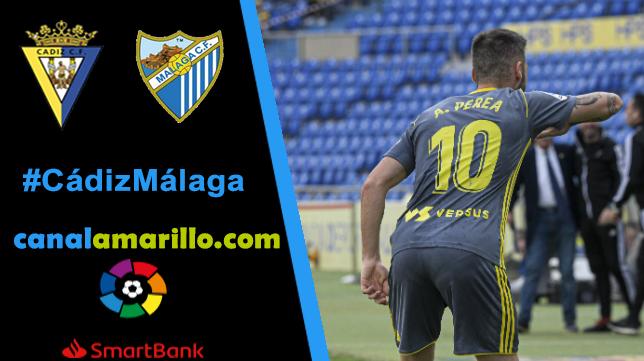 El Cádiz CF quiere ser más líder ante el Málaga