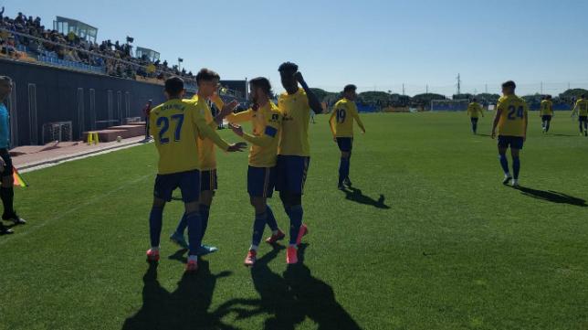 El Cádiz B seguirá en Segunda B una temporada más. FOTO: Antonio Vázquez