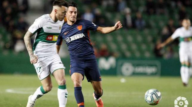 El Málaga perdió hace dos jornadas en Elche.