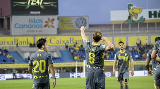 Álex Fernández ya lleva diez goles.