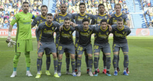 Once del Cadiz CF ante Las Palmas.