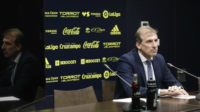 El director deportivo del Cádiz CF, Óscar Arias.