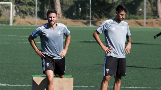 Un entrenamiento del Cádiz CF B.