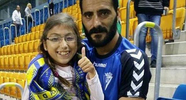 Dani Güiza, con Aitana.
