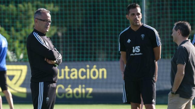 Álvaro Cervera, Roberto Perera y David Navarro.