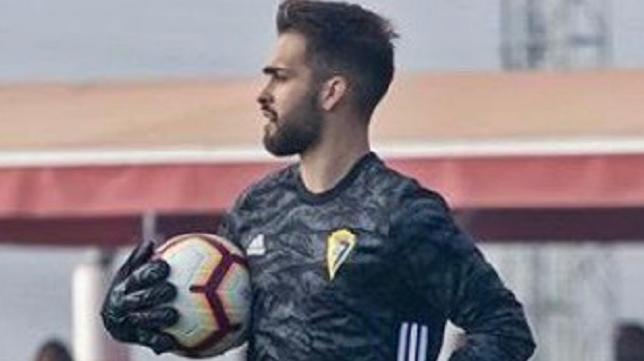 Álvaro Hormiga abandona la cantera del Cádiz CF. Foto: Cádiz CF.