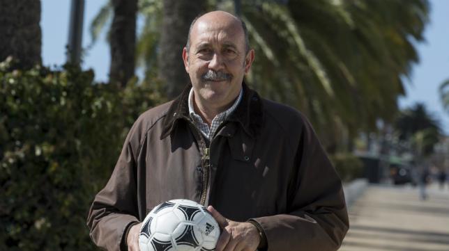 El exfutbolista del Cádiz CF, Carmelo Navarro.