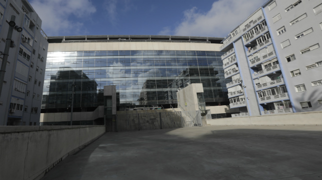 La fachada del Nuevo Estadio Ramón de Carranza.
