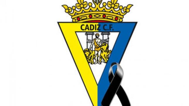 El Cádiz CF se suma al luto nacional. Foto: Cádiz CF.