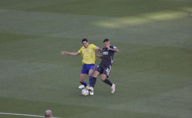 Bodiger fue titular ante el Alcorcón.