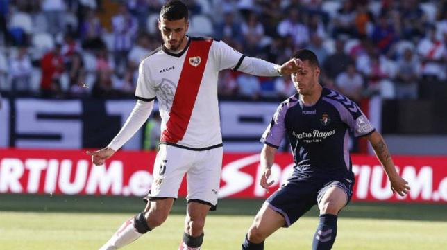 El futbolista del Rayo, Catena.