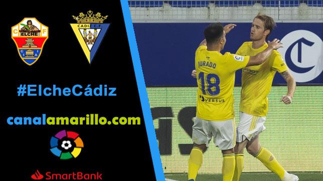 El Cádiz CF necesita ganar en Elche