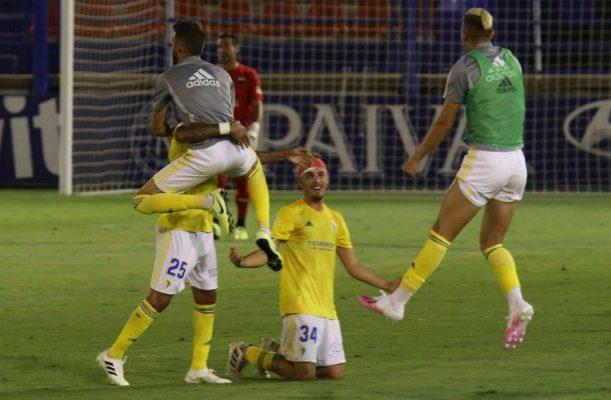 Sergio celebró la victoria como el que más.