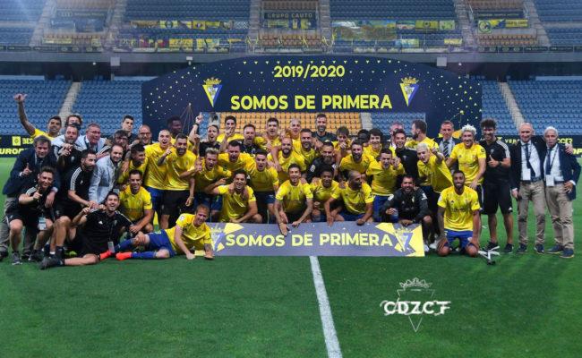 El Cádiz CF es de Primera. Foto: Cádiz CF.