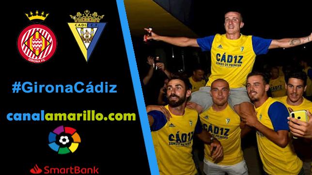 El Cádiz quiere ser campeón en Gerona