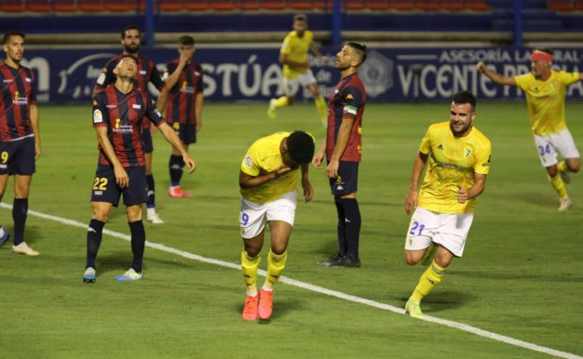Lozano celebra el gol de la victoria.