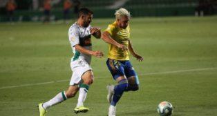 'Pacha' Espino ha sido el lateral izquierdo titular del Cádiz CF esta temporada.