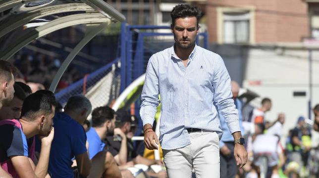 Rubén Albés ha sido el entrenador de Dani Sotres y David Mayoral. Foto: La Verdad.