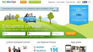 Un juez rechaza suspender de forma cautelar la actividad de «Blablacar» en España