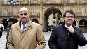 De Guindos afirma que el BCE podría comprar 20.000 millones en bonos de empresas españolas