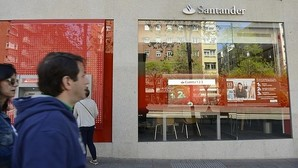 Imagen de archivo de una oficina de Banoc Santander