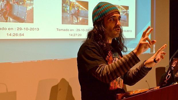 Chema Alonso, en una conferencia en la Universidad de Almería