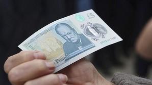El nuevo billete de cinco libras será de plástico