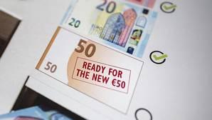 El nuevo billete de 50 euros entrará en circulación en la primavera de 2017