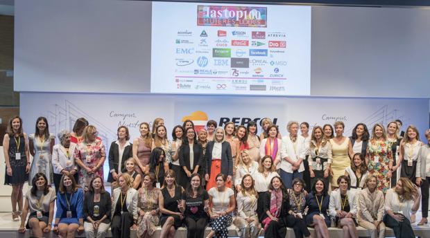 Imagen de la 5ª gala de Las Top 100 Mujeres Líderes en España