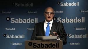 Banco Sabadell obtiene un beneficio de 425,3 millones hasta junio, un 20,7% más