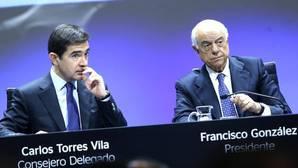 El BBVA logra un beneficio de 1.832 millones hasta junio, un 33,6% menos