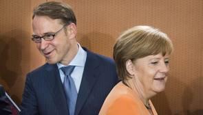 El presidente del Bundesbank critica a Bruselas por no multar a España por incumplir el déficit