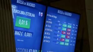 La prima de riesgo española sube levemente y se sitúa en 100 puntos básicos