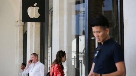 Una tienda de Apple en Londres