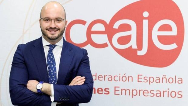 Fermín Albaladejo, presidente de la Confederación Española de Asociaciones de Jóvenes Empresarios