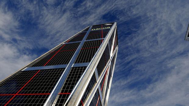 Imagen de la sede de Bankia en Madrid
