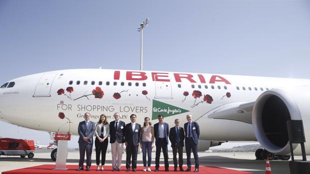 Vuelo inaugural entre Madrid y Shanghái de Iberia