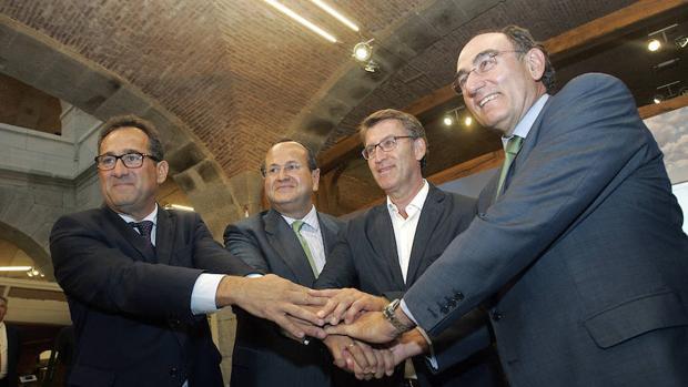 Navantia, Windar a Iberdrola estrechan lazos