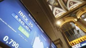 El Ibex 35 supera los 9.000 puntos y alcanza niveles de hace tres meses