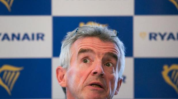 eEl consejero delegado de Ryanair, Michael O'Leary