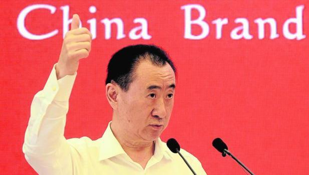 El presidente de Wanda, Wang Jianlin
