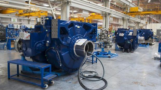 Navarra lideró la caída de la producción industrial con una tasa negativa del 16,6%