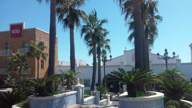 Complejo de RIU en Chiclana (Cádiz)