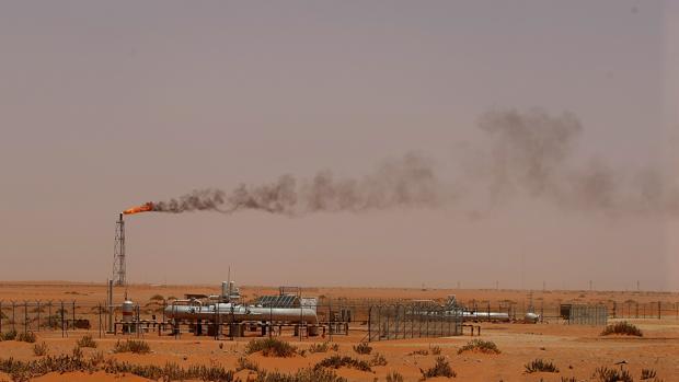 Yacimiento petrolífero en Arabia Saudí